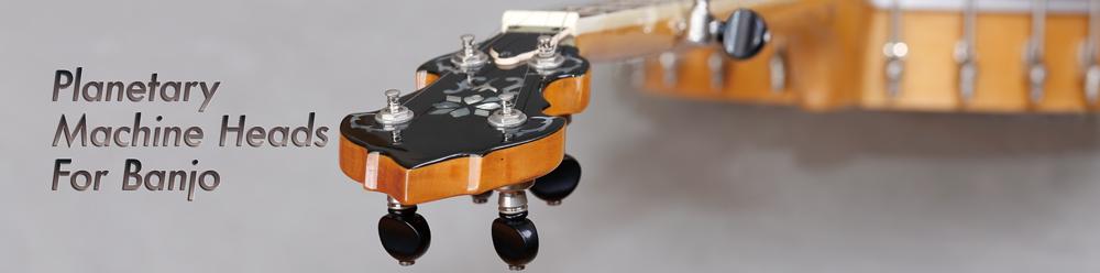 Planetary Banjo Tuners