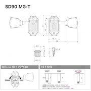 SD90MGT-dimension